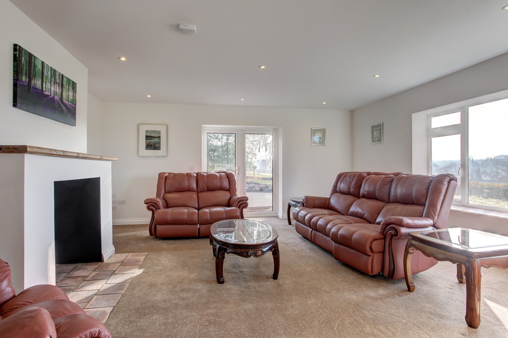 Renovated home, sitting room