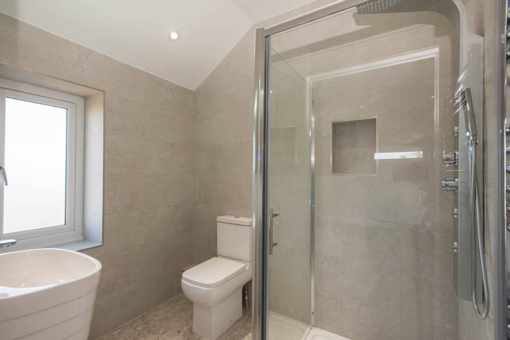 New home shower room