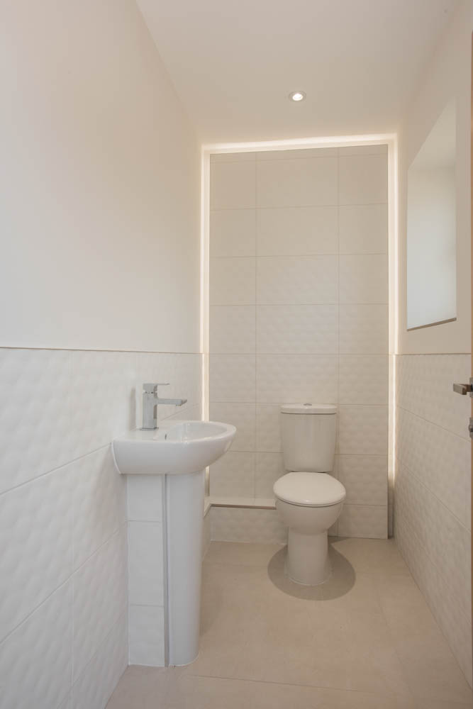 New home cloakroom