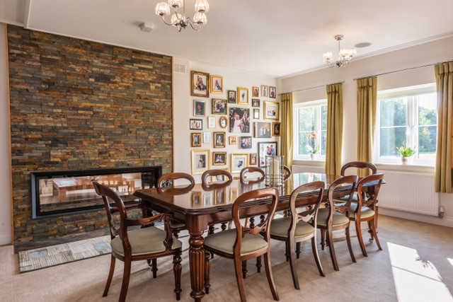 Home renovation, dining room